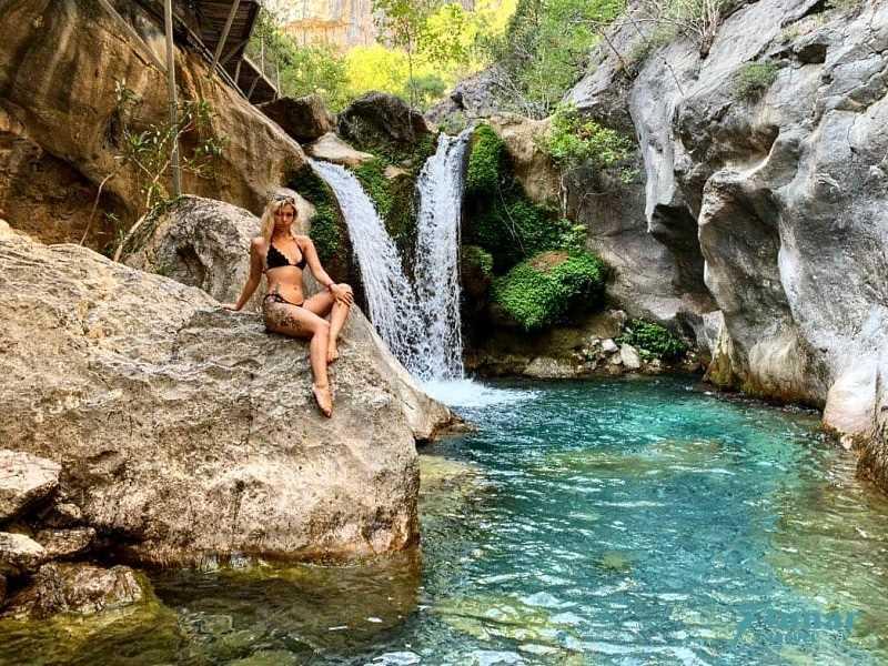 К водопадам: Сападере Каньон в Алании из Сиде