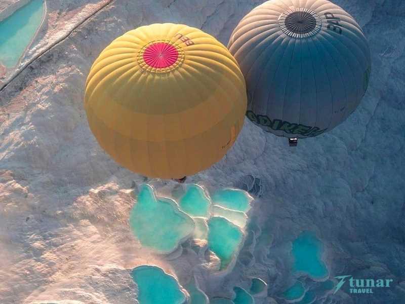 Памуккале на рассвете (5 часов) + Воздушные шары из Анталии